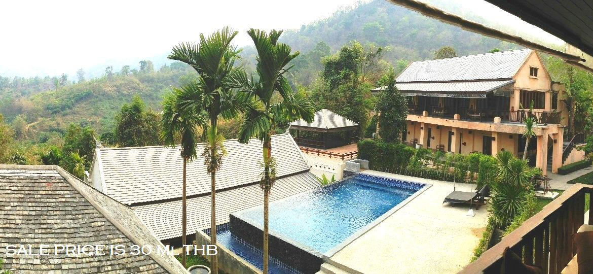 Mountain-view Resort House for Sale