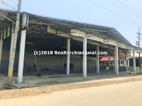 Warehouse for rent Near Super Highway Road, Chiangmai, Thailand.