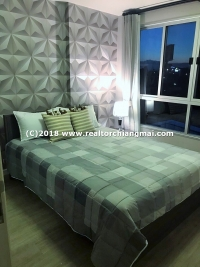"2 Beds Condo for rent  at ""D Condo"" Close to Central Festival Chiang Mai"