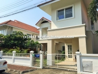 House For Sale inside Koolpunt Ville 9,  Chiang Mai, Thailand.