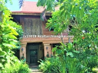 Tropical Lanna Style for sale in Saraphi, Chiangmai, Thailand.