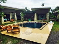 Resort for sale with swimming pool in Saraphi, Chiangmai